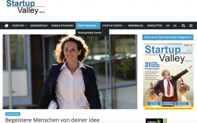 Begeistere Menschen von deiner Idee – Startup Valley Magazin interviewt Katja Hofmann
