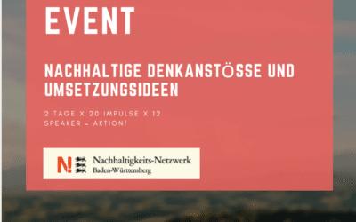 Nachhaltige Impulse und Umsetzungsideen beim Green Kickstart Event